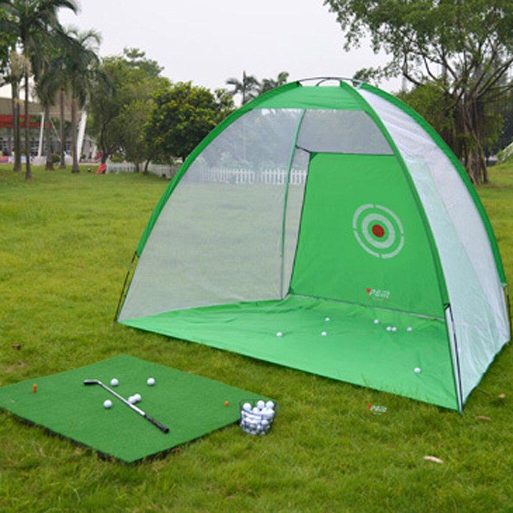 Легкий всплывающий коврик для ударов в гольф, сетка для игры в гольф, сетка для игры в гольф