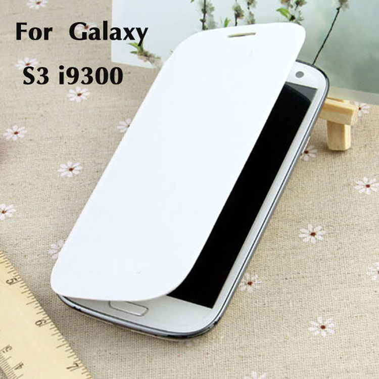 Original Battery Case Housing Holster Shell Leather Case Flip Cover Sleeve case For Samsung Galaxy S3 I9300 S3 Neo I9300i S3