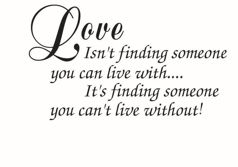 engelse spreuken liefde Gesneden Muurstickers Muurstickers Liefde is niet vinden Engels  engelse spreuken liefde