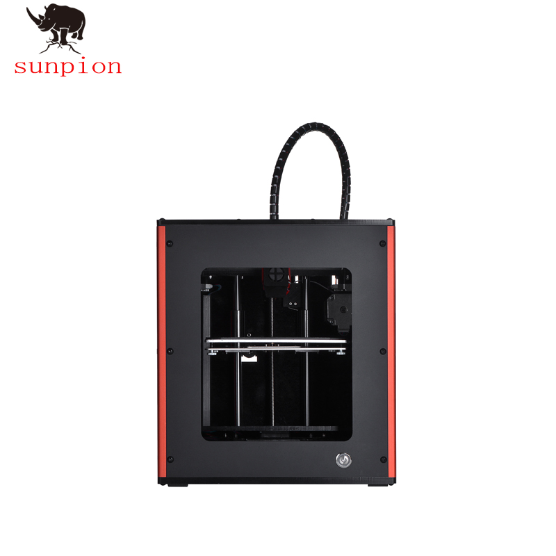 SUNPION Mini S100 3D Imprimante Grand Format D'impression avec Reprendre Impression Fonction écran tactile Meilleur 3D imprimante