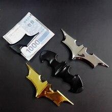 Magnetic Money Clip Dark Knight Outdoor Portable Batman Folding Batarang Metal Holder Unisex's Zinc Alloy Pocket Wallet Clip