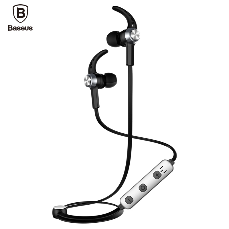 Baseus Magnetic Bluetooth Earphone For iPhone 7 Samsung S8 Wireless Sport Running Stereo In Ear Earbuds Headset MP3 MP4 Earpiece baseus magnetic bluetooth earphone for iphone 7 samsung s8 wireless sport running stereo in ear earbuds headset mp3 mp4 earpiece