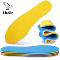 2 Pairs Men and Women Scholls Insoles  Flat Foot Memory Foam Shoe Pad Insole Plantillas Para Fascitis Plantar Soles for Shoes