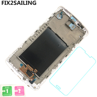 FIX2SAILING 100 Tested Working LCD Display Touch Screen Digitizer Frame Replacement Panel Full For LG G3