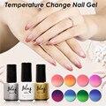 6ML Temperature Thermal Gel Polish UV Led Nail Gel Mood UV Gel Nail Polish Soak-off Vernis Permanent Color Changing Gel