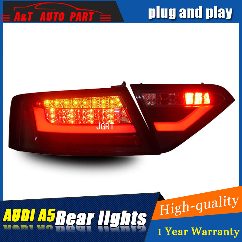Car styling Accessories for Audi A5 rear Lights led TailLight 2008 2016 for A5 Rear Lamp
