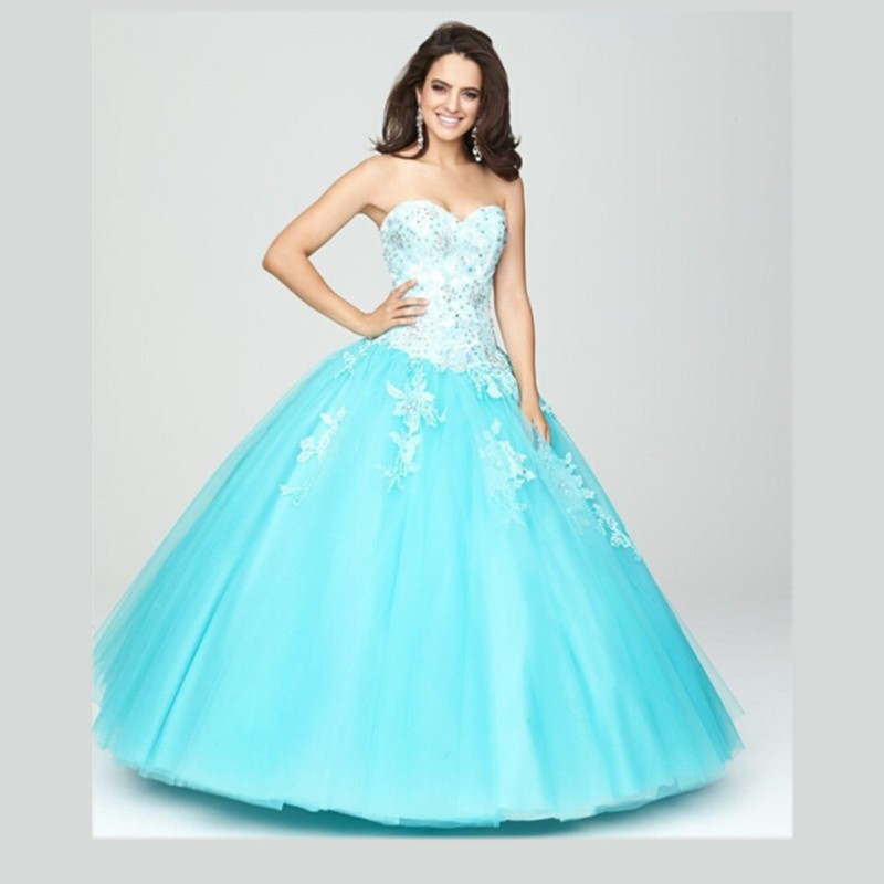 Popular Quinceanera Dress Turquoise and Purple-Buy Cheap ...