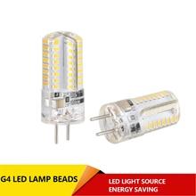 цена на Mini G4 LED Lampe 3014 Led-lampe 3W 5W AC DC 12V AC220V LED G4 SMD Licht 360 Abstrahlwinkel Kronleuchter Lichter Ersetzen Halo