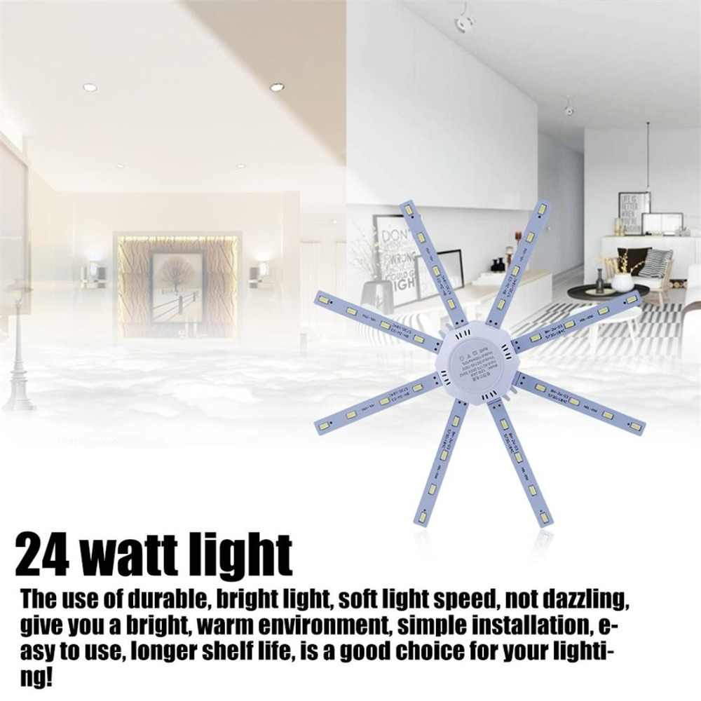 Terbaru 12 W/16 W/20 W/24 W Vintage Putih Lampu LED String Rumah Ruang Tamu Kamar dekoratif Pengganti LED Garis Lampu Langit-langit