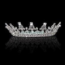 Trendy Vintage Wedding Bridal Headband Crown Tiara Pageant Prom Hair Jewelry Wedding Hair Accessories #Y51#