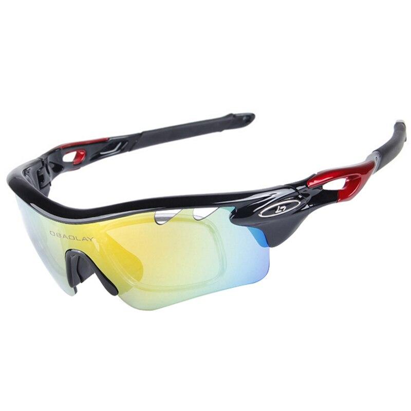 Prix pour Vélo Lunettes Sport En Plein Air Montagne Polarisé UV400 Vélo Vélo Lunettes Moto lunettes de Soleil Lunettes Lunettes 5 Lentille
