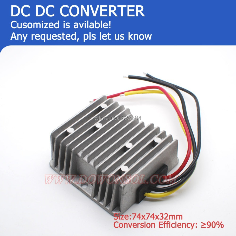 цена на good performance DC-DC Buck converter 12V to 27V 8A 216W boost regulator module battery pack power supply transformer