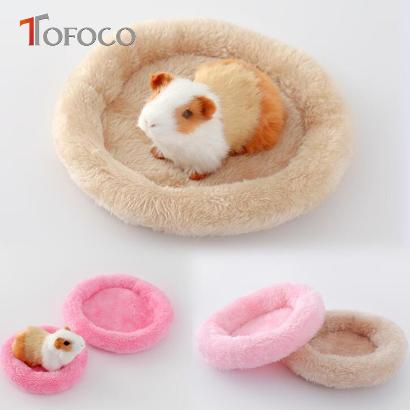 TOFOCO 2017 Promotion New S/L Lovely Soft Keep Warm Cotton Pad Toys For Hamster Hedgehog Dragonhawk Stuffed Toy Kids Gift Unisex