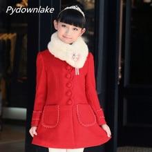New  Coat Girl Thickness Winter Autumn Plaid Fashion Childern Jackets Blouson Enfant Kids Clothes