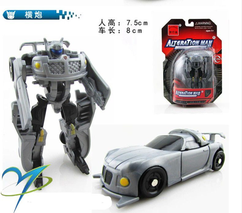1PCS Transformation Kids Classic Robot Cars Toys For Children Action & Toy Figures cars for children