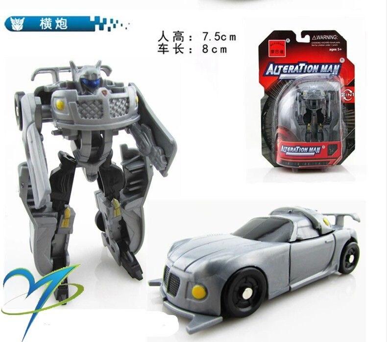 1 ADET Dönüşüm Çocuklar Klasik Robot Arabalar Oyuncaklar Çocuklar Aksiyon ve Oyuncak Figürler
