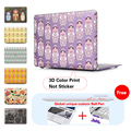 Russian Doll Laptop Hard Case For Apple macbook Air Pro Retina11 12 13.3 15 laptop bag For Mac book air 13 case 15.4 inch