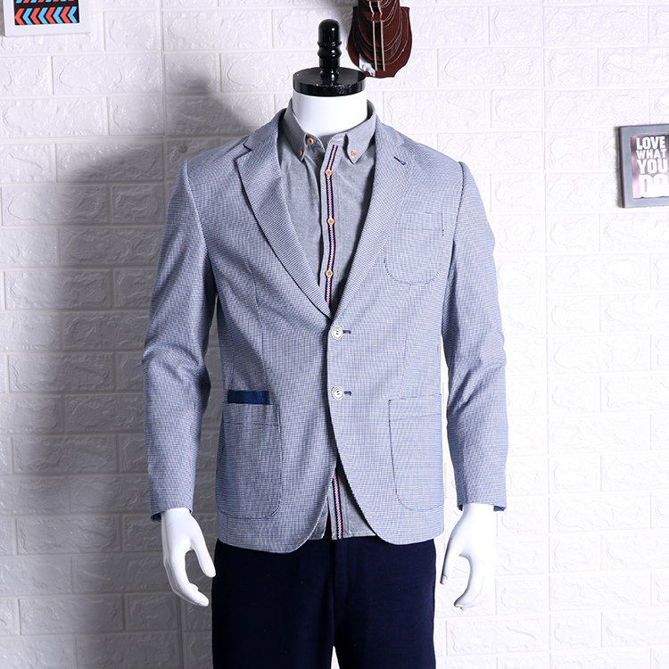 f395772c80c7 2019 primavera nuevo joven atractivo pequeño traje de hombre de estilo  adelgazante West Men traje ...