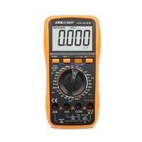 High Quality VICTOR VC9808+ 3 1/2 Digital multimeter DCV ACV Electrical Meter ammeter 20A voltmeter Inductance Frequency tester