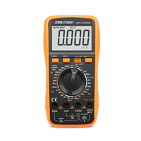 High Quality VICTOR VC9808+ 3 1/2 Digital multimeter DCV ACV Electrical Meter ammeter 20A voltmeter Inductance Frequency tester