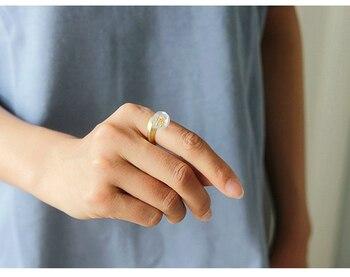 Natural Crystal Handmade Fine Flower Ring20