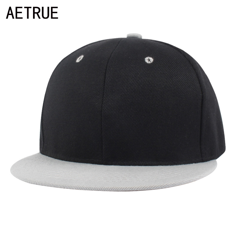 AETRUE Baseball Cap Men Hip Hop Snapback Caps Blank Bone Flat Hats For Men Women Casquette Male Fashion Snap Back Hat Caps 2018 aetrue beanie women knitted hat winter hats for women men fashion skullies beanies bonnet thicken warm mask soft knit caps hats