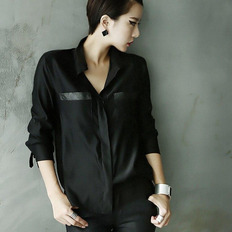 black dress shirts for women - Dress Yp