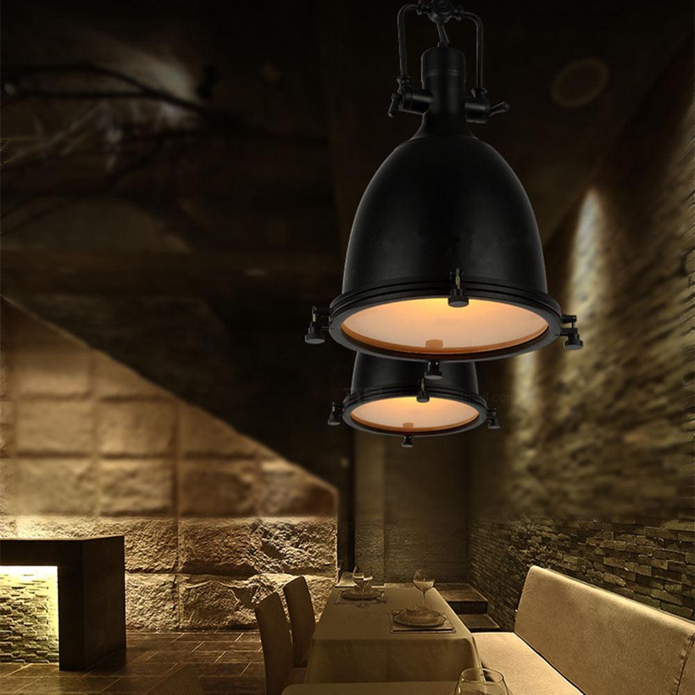E26/E27 Loft Pendant Light Industrial Style Vintage Retro Pendant lamp American village Hanging Lamps luminaries For Kitchen bar