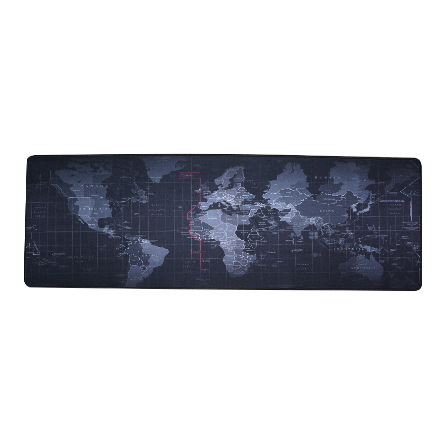 где купить Large Size mouse pad Plain Extended Water-resistant Anti-slip Natural Rubber Gaming mousepad Desk Mat for cs go over watch DOTA2 дешево