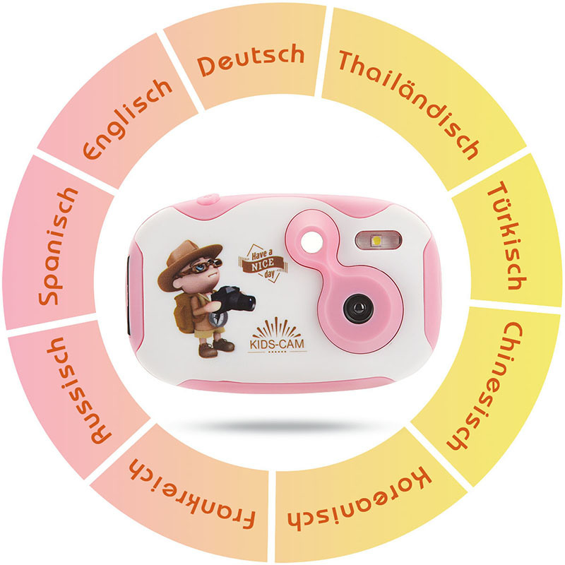 Children's Educational Toddler Toys Photo Camera Kids Mini Toy Camera With Neck Strap Photography Gifts For Above 3 Year Old P20