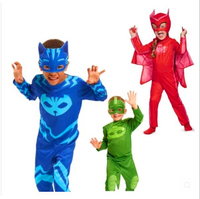 Selling PJ Mask Hero Of Children Cosplay Costume And PJ Masks Cosplay Costume And Birthday Party