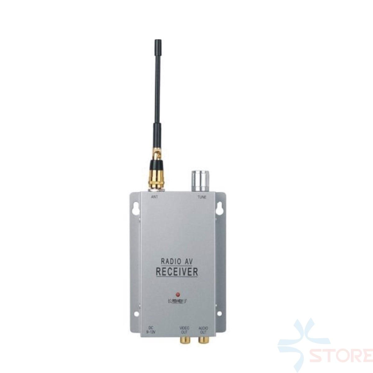 1.2G 4Ch Wireless camera AV receiver wireless 1.2G transceiver For CCTV Camera FPV Monitor 1 2g 100mw wireless audio video transceiver and receiver combo for fpv