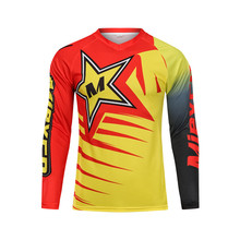 Mieyco Bike Man Pro Downhill Jersey Motocross Long Sleeve MTB Shirt Cycling Maillot Bicycle Outfit