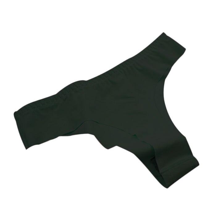 # Vestido 2019 Thongs Sexy underwear women Ice Silk Invisible T-pants   Panties   for women lingerie Vetement femme