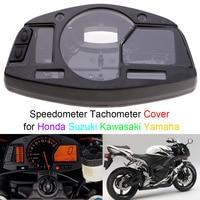 Gauge Case Cover for Honda Suzuki Kawasaki Yamaha CBR 600/1000RR ZX6R/10R GSXR600/750/1000 YZF R1/R6 Speedometer Tachometer