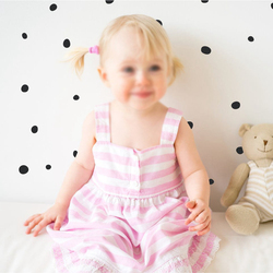 Mini mão desenhada bolinhas decalques de parede decoração do berçário moderno irregular manchas vinil arte adesivo para casa quarto do bebê decoração da parede