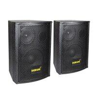 1 пара деревянный динамик s 2,0 спикеры профессиональные спикеры двойной 6,5 дюймов KTV пассивный аудио пассивный динамик s