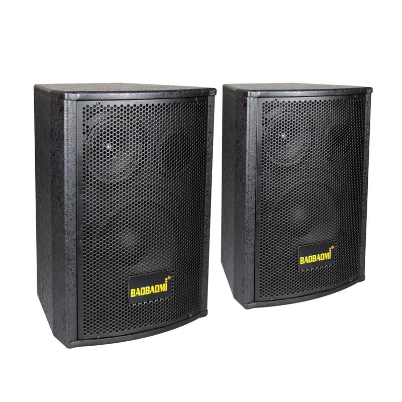 Haut-parleurs en bois 2.0 haut-parleurs professionnels doubles haut-parleurs passifs Audio passifs KTV 6.5 poucesHaut-parleurs en bois 2.0 haut-parleurs professionnels doubles haut-parleurs passifs Audio passifs KTV 6.5 pouces