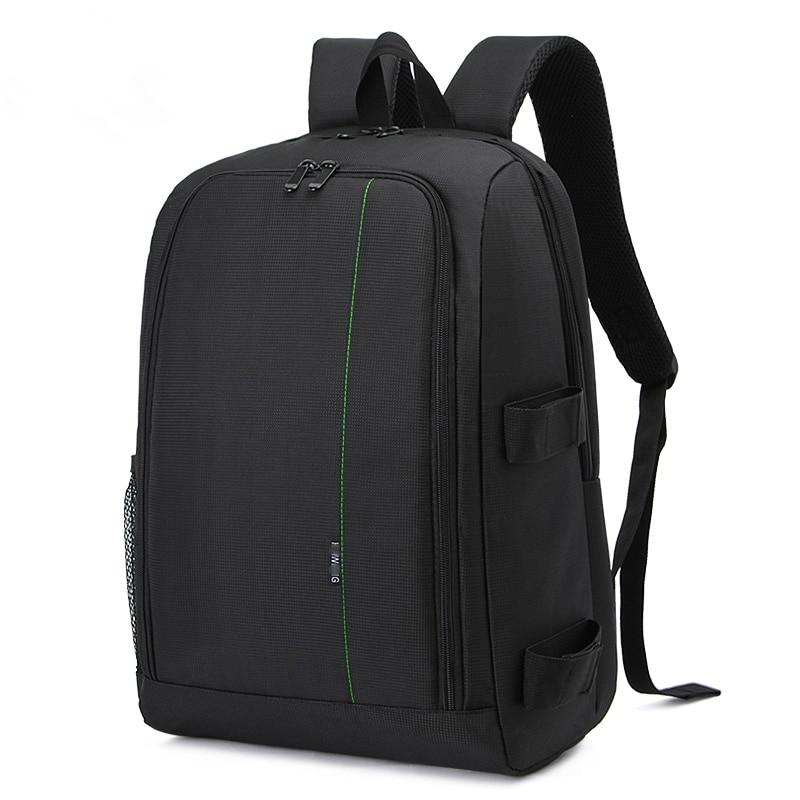 Sac étanche pour appareil photo reflex numérique pochette pour objectif Canon 750D 6D Nikon D5300 Sony alpha A7 Mark II III sac à dos pour appareil photo