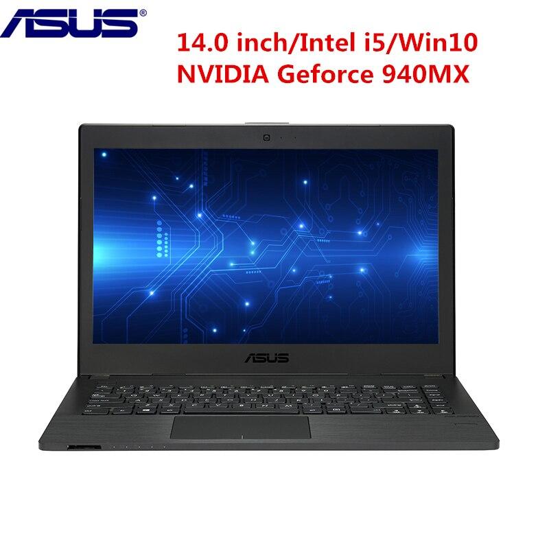 ASUS Notebook 14.0 inch Win10 Pro Intel i5 7200U Dual Core 2.5GHz 4GB RAM 500GB HDD Fingerprint