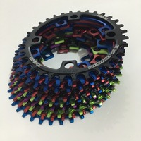 FOURIERS 96BCD 32 38 T Alloy Bike Chainring Chainwheel MTB Road Cycle Crankset Parts Beyond GEAR