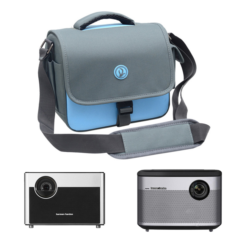 Projector Accessories Portable Bag Case for XGIMI H1 H1S H2 Aurora JmGO J6S J6 J7 DLP Projector camera shoulder bag shockproof image
