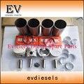 Комплект для ремонта двигателя V1903 поршня, гильзы цилиндра комплект поршневых колец и V1903 основной/коленчатого вала подшипников и подшипников con стержня комплект прокладок