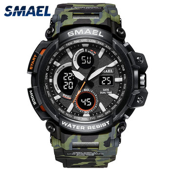 SMAEL Sport Watches Waterproof Men Watch LED Digital Watch Military Male Clock Relogio Masculino erkek kol saati 1708B Men Watch yazole luminous wrist watch men watch sport watches luxury men s watch clock saat erkek kol saati relogio masculino reloj hombre