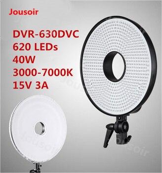 Falconeyes 40W ring Lamp DVR-620D Indoor 3000- 8000K portrait light selfie Light beauty Skin live lamp 620LEDs CD50 T06