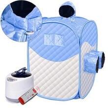 Паровая душевая комната паровая сауна портативная спа для похудения
