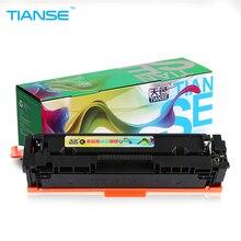 TIANSE 1pcs for HP201A CF400A CF400 CF401A 201A Toner Cartridge for HP Color Laserjet PRO M252N M252DW MEP M277 M277N M277DW