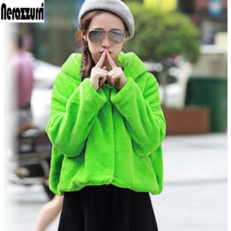 Nerazzurri χειμωνιάτικο παλτό γούνινο - Γυναικείος ρουχισμός - Φωτογραφία 1