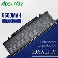 6600 мАч аккумулятор для SAMSUNG R505 R509 R510 R560 R60 R610 R65 R70 R700 R710 X360 X460 X60 X65 AA-PB2NC3B AA-PB2NC6B