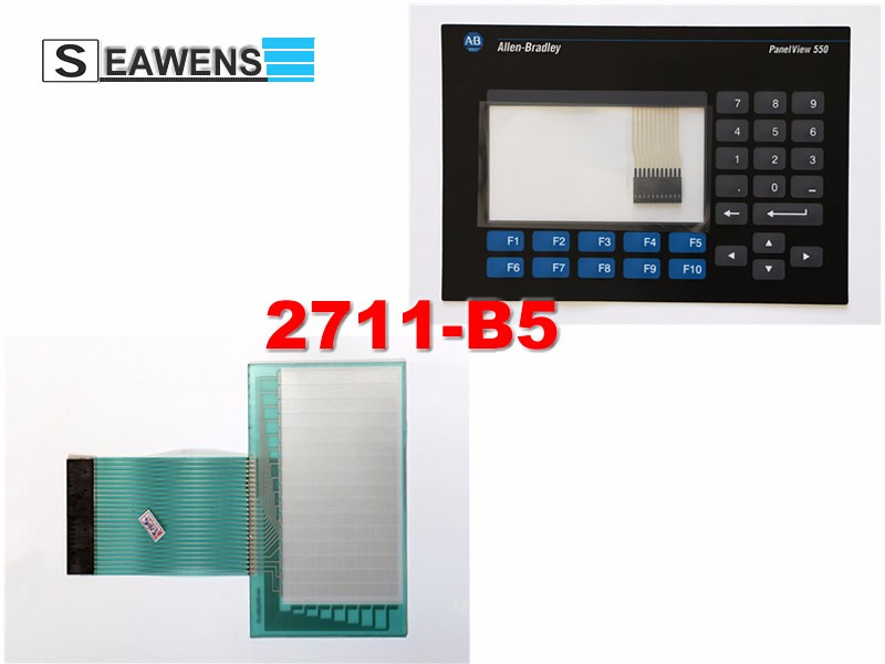 2711-B5A9 touch screen + membrane (2711-B5) keypad for Allen-Bradley HMI 2711B5A9, FAST SHIPPING camp crest